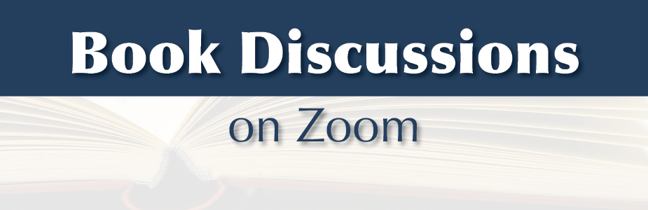 book discussions on Zoom